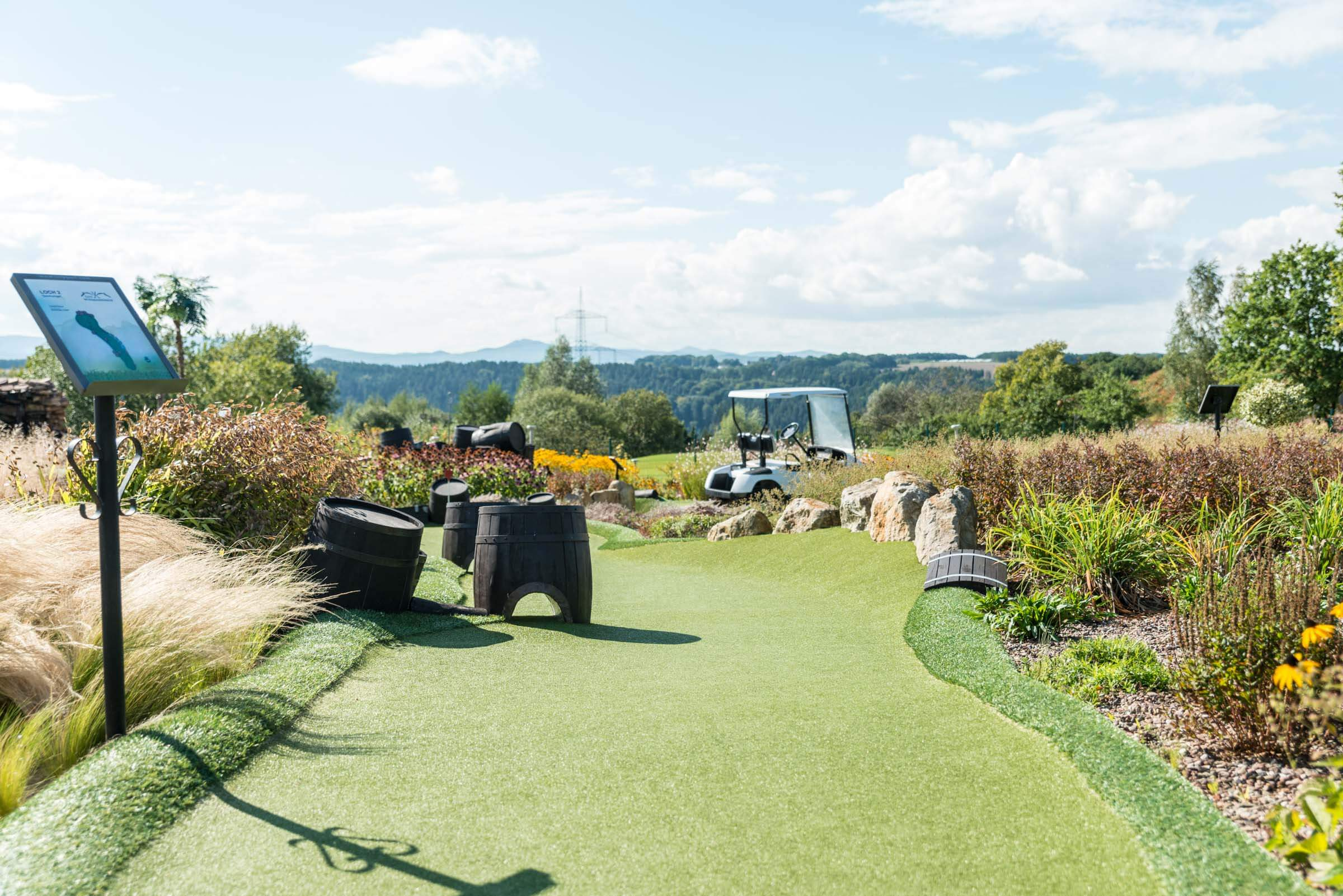 Adventure Golf Spielbahn