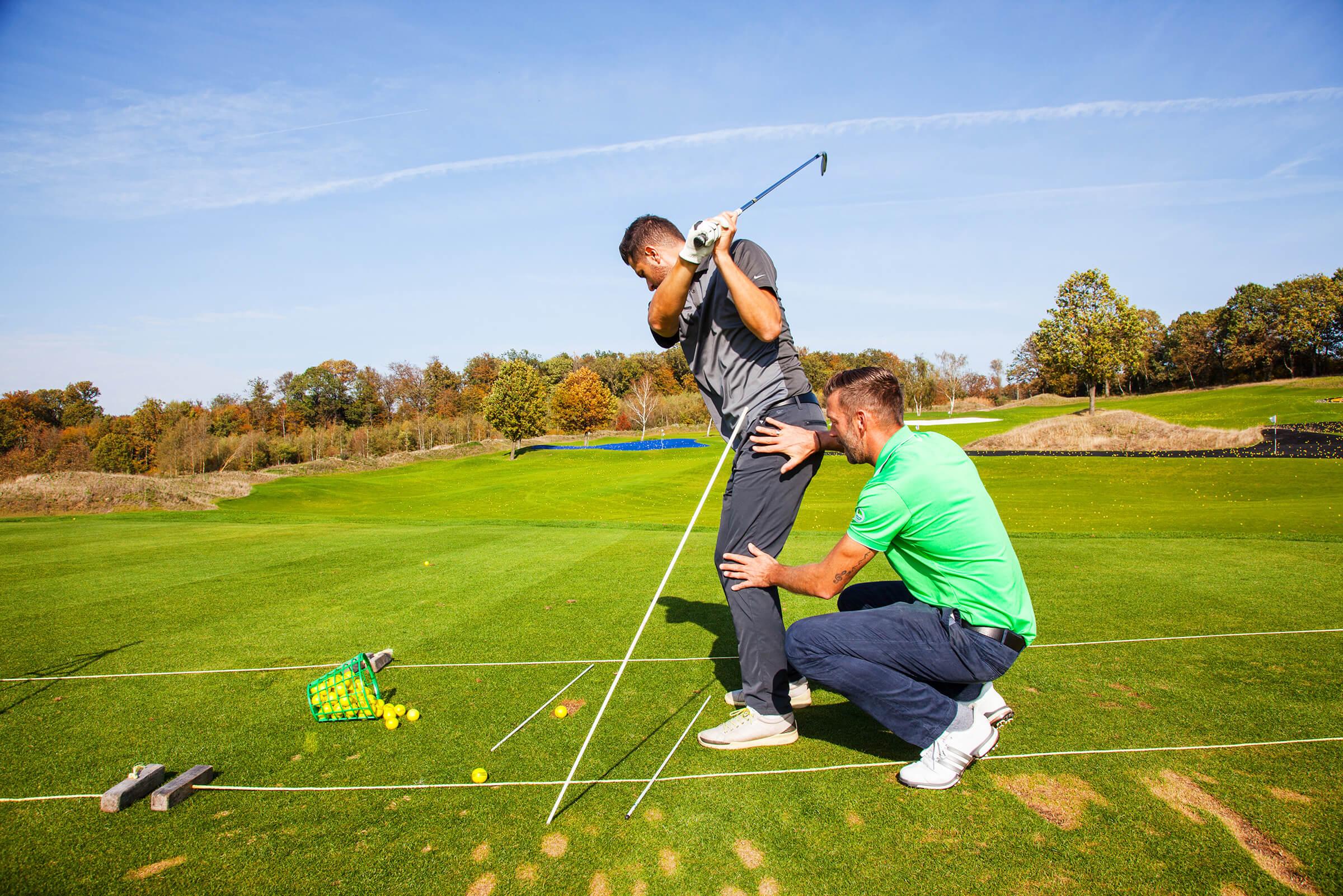 Golfunterrricht Dennis Hilgenberg
