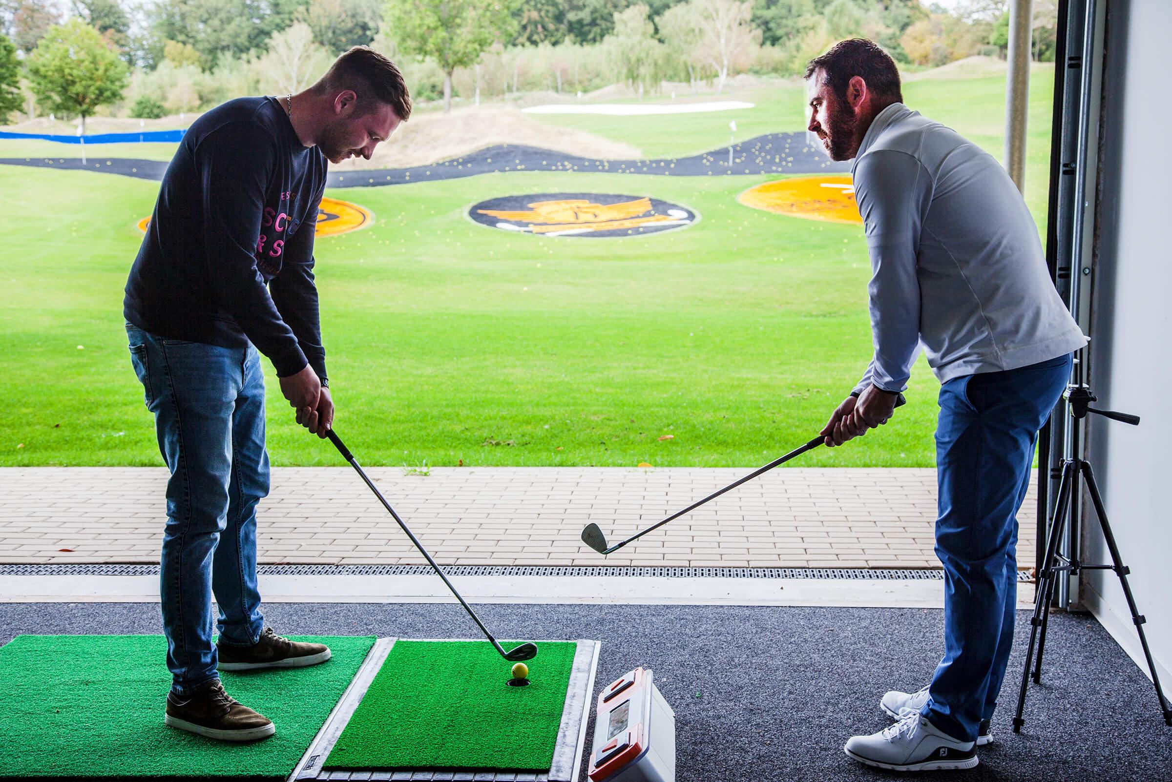 Golfunterricht Fabian Becker