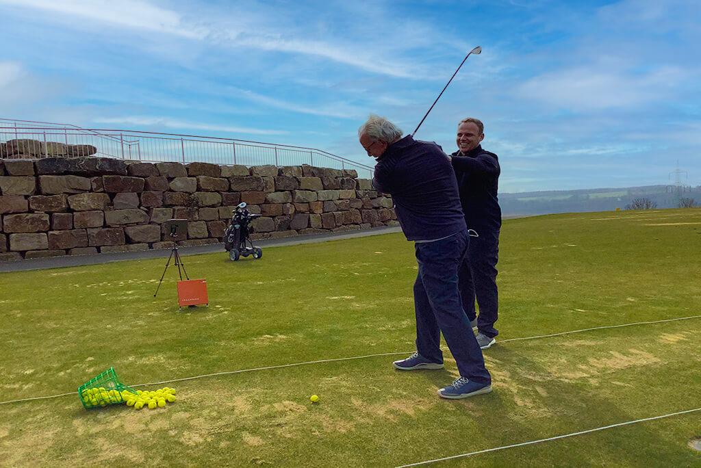 Golfunterrricht Daniel Wünsche